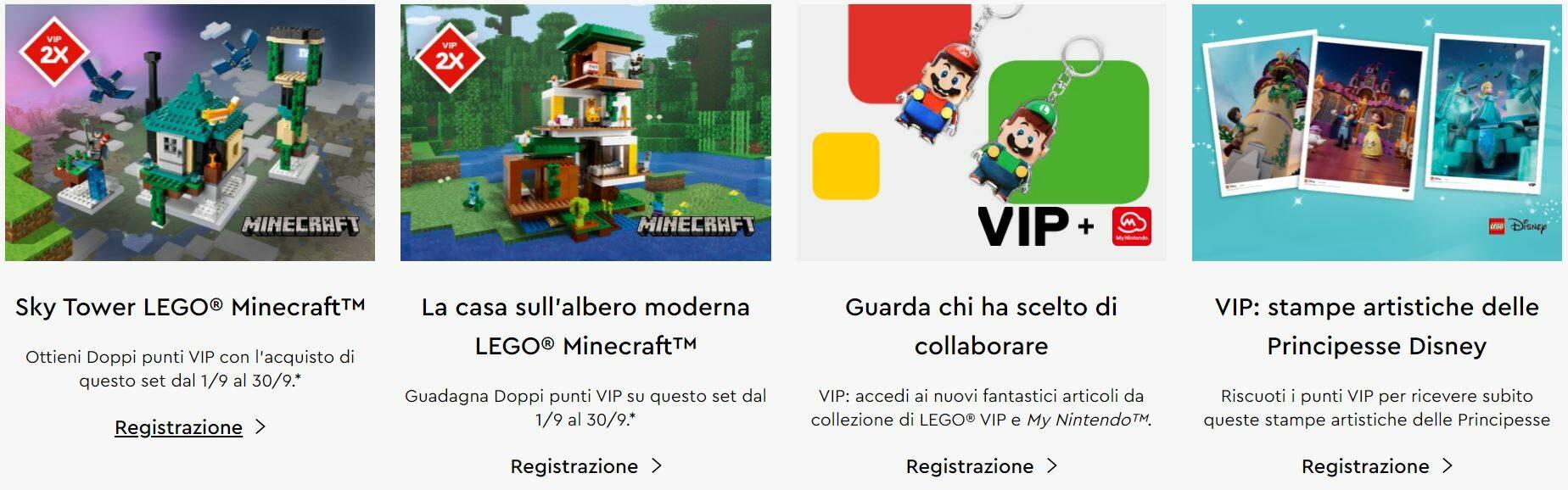 LEGO VIP - settembre 2021