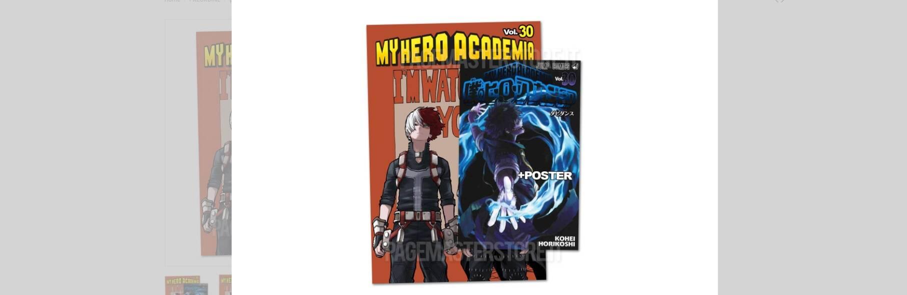 my hero academia volume 32
