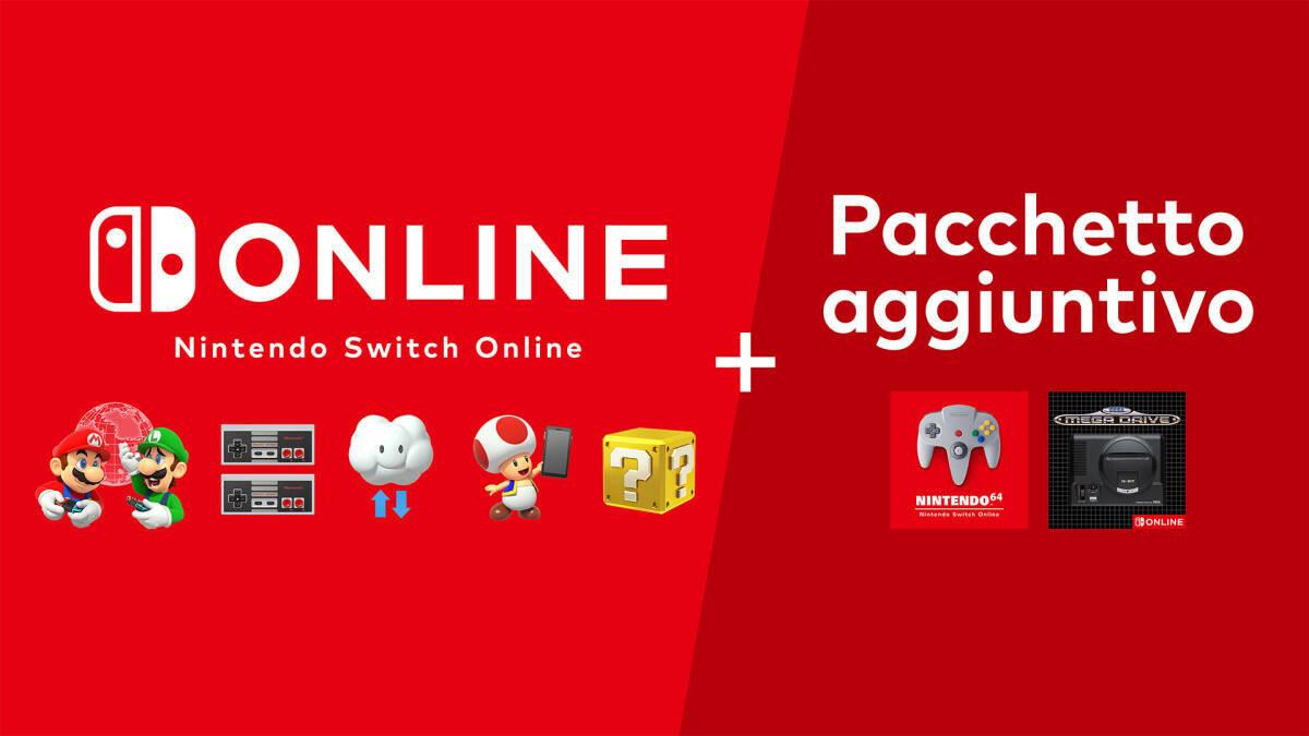 Nintendo Switch Online Pacchetto Aggiuntivo