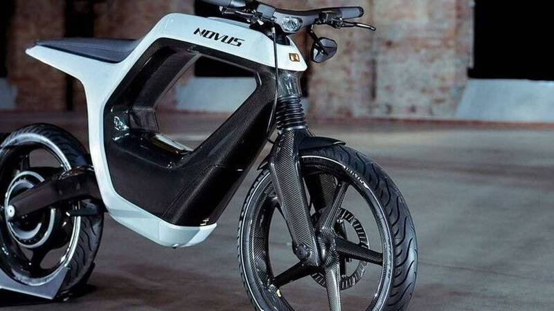 Novus One, e-bike or motorcycle? The price is staggering