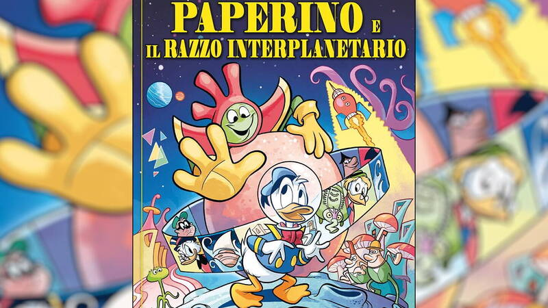 Donald Duck and the Interplanetary Rocket, review: a classic Disney Made in Italy