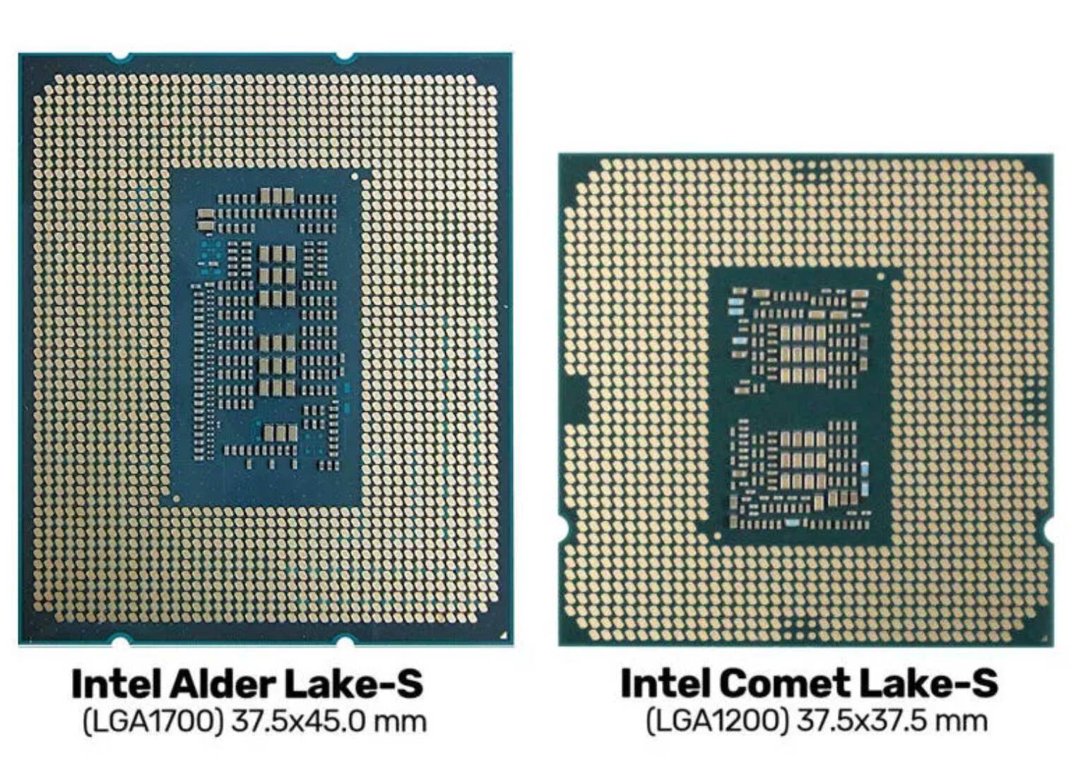 Socker LGA 1700 Intel Alder Lake