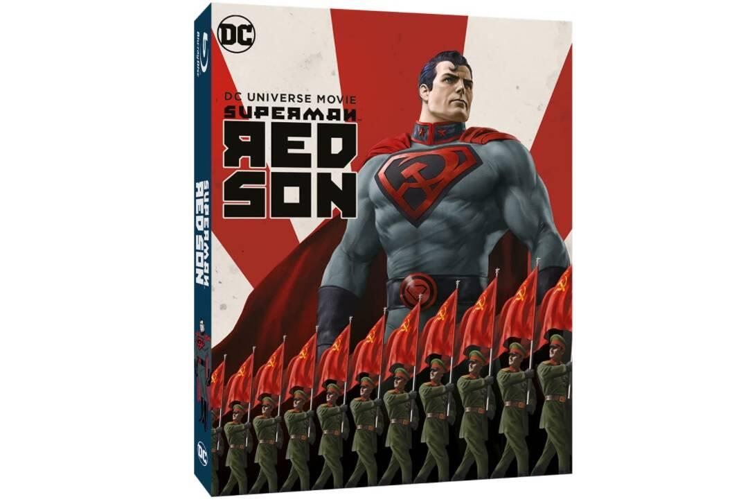 Superman: Red Son e Suicide Squad: Un Inferno Da Scontare in blu-ray con doppiaggio italiano