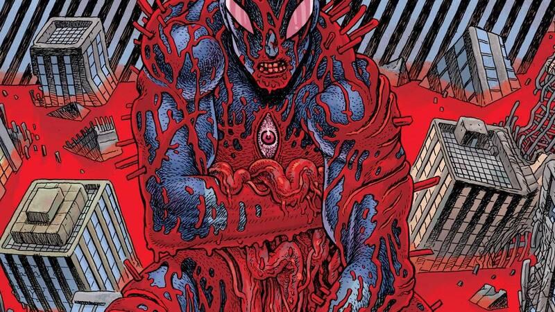 Ultramega: saldaPress announces the new comic series of violent and monstrous kaiju