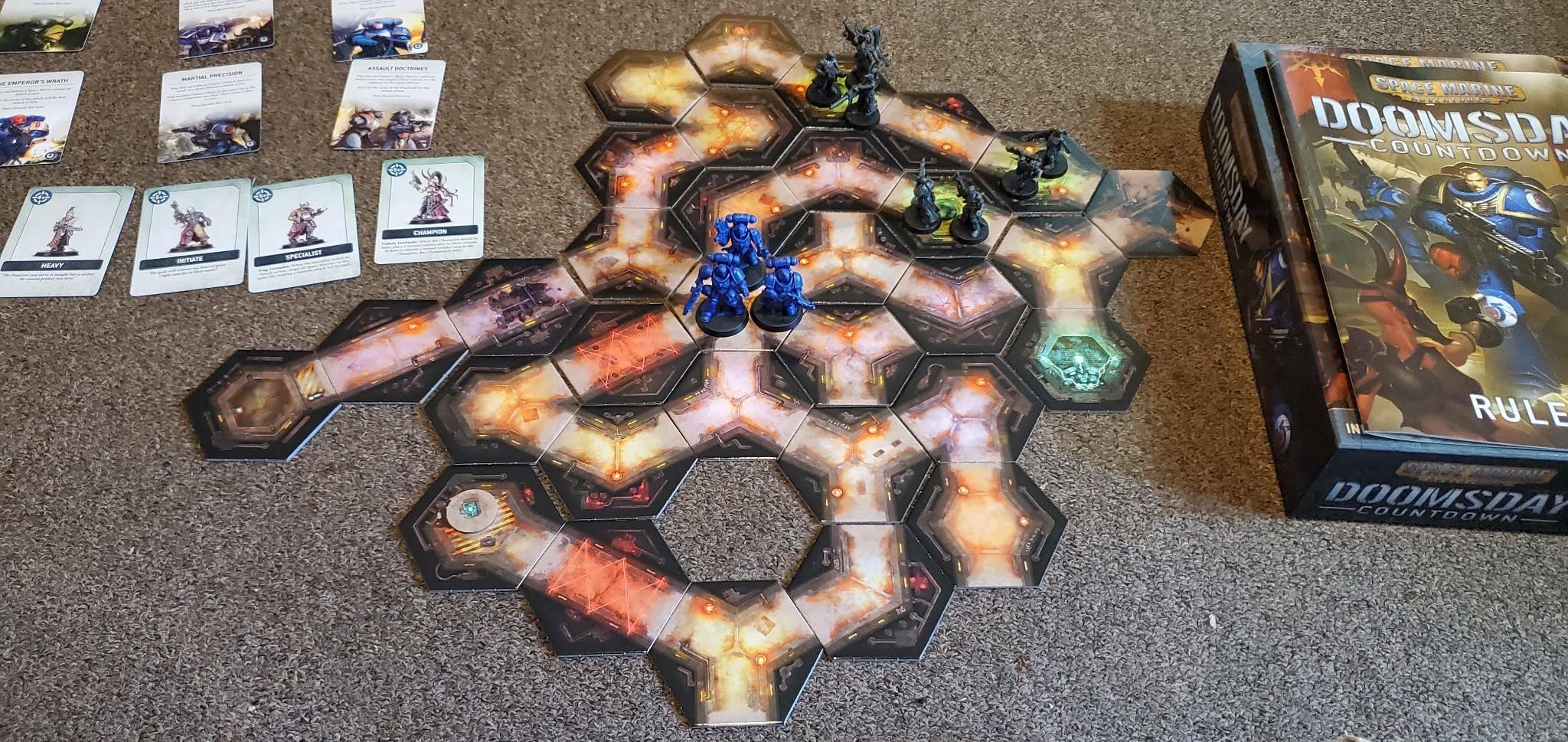 Warhammer 40.000 boardgames