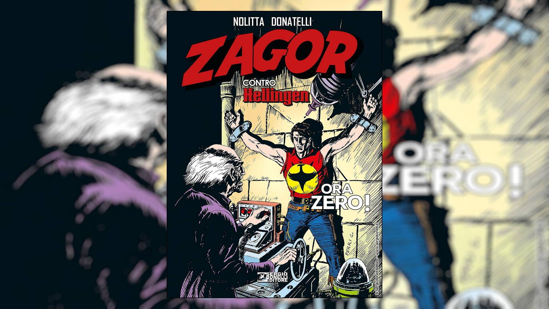 Zagor contro Hellingen - Ora Zero! recensione