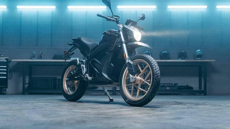 Zero Motorcycles unveils three new MY2022 models