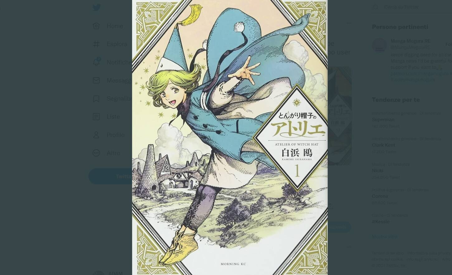 atelier of witch hat anime