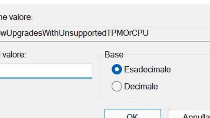 installare Windows 11 su PC non supportati