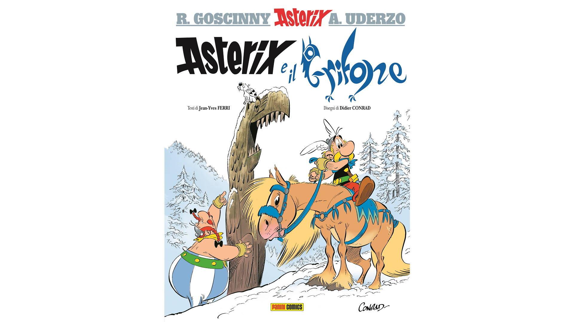 copertina di Asterix & Il Grifone