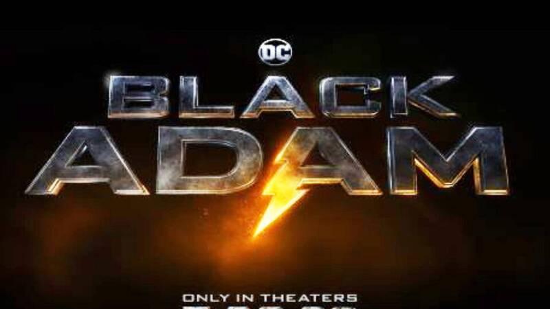 Il teaser trailer di Black Adam dal DC F …