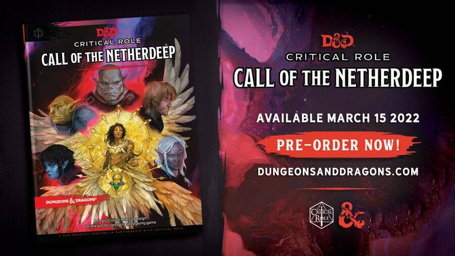 Critical Role Call of the Netherdeep