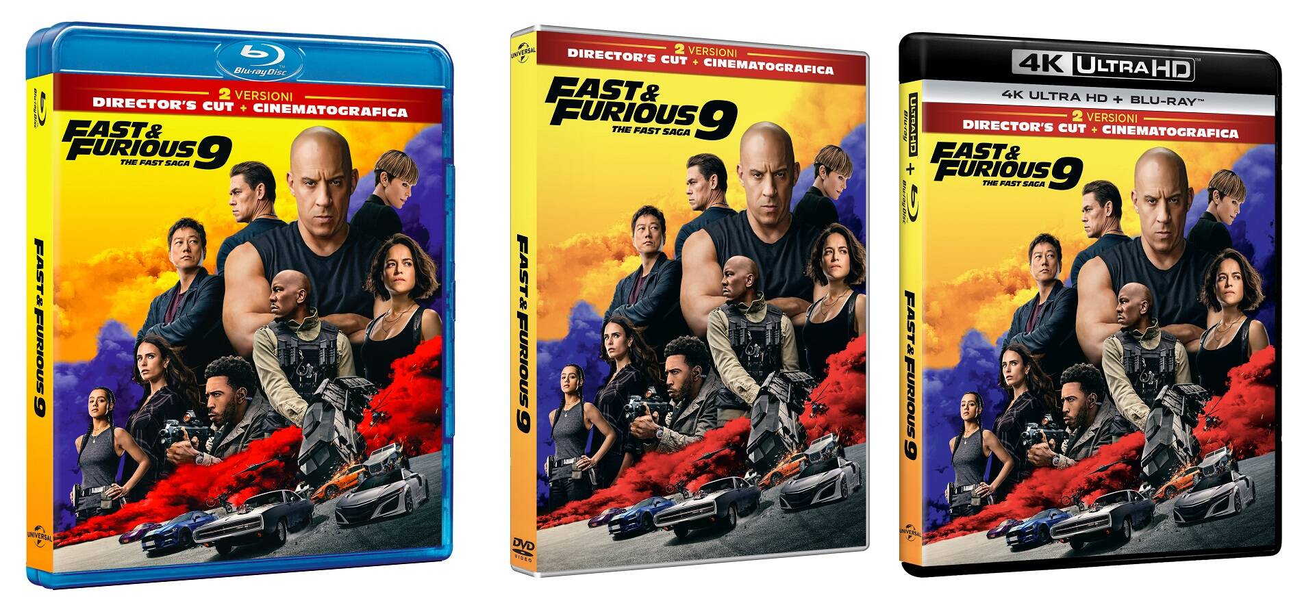 Fast & Furious 9 in home video