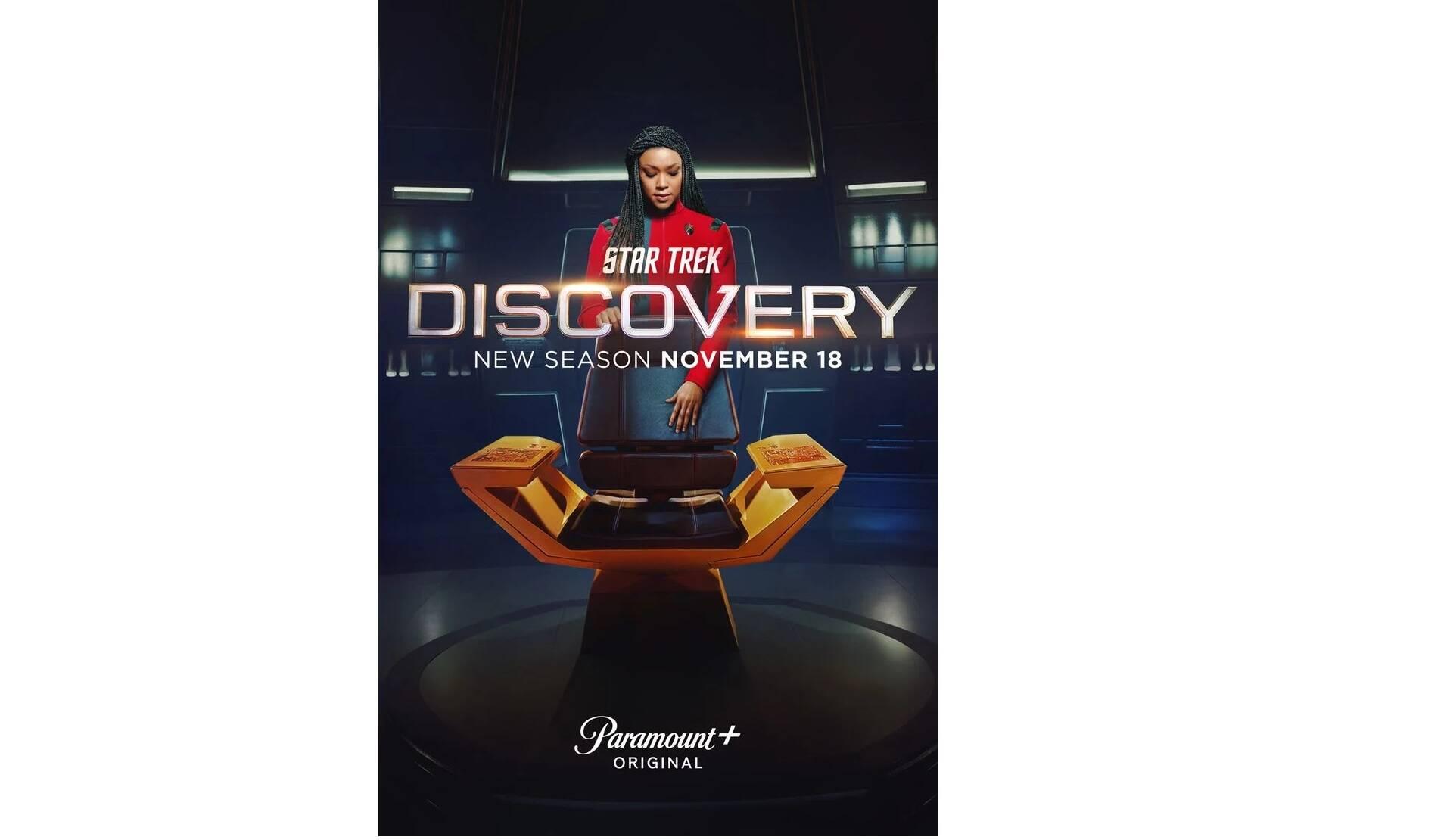 nuovo trailer di Star Trek Discovery 4