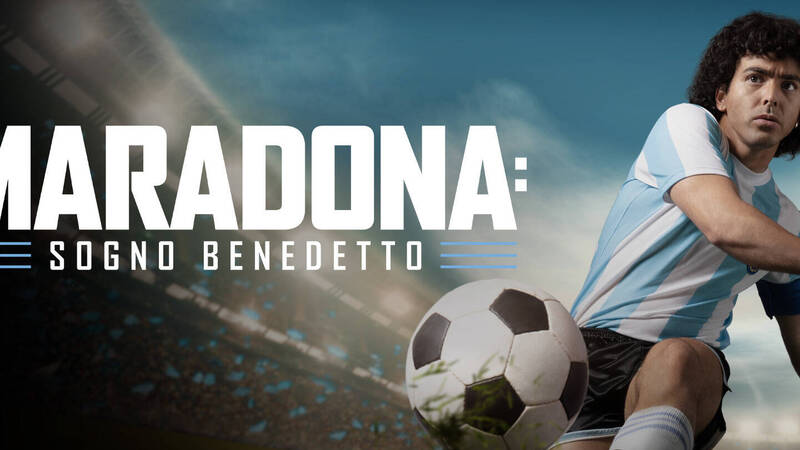 The trailer for Maradona: Blessed Dream, the Amazon Prime Video series