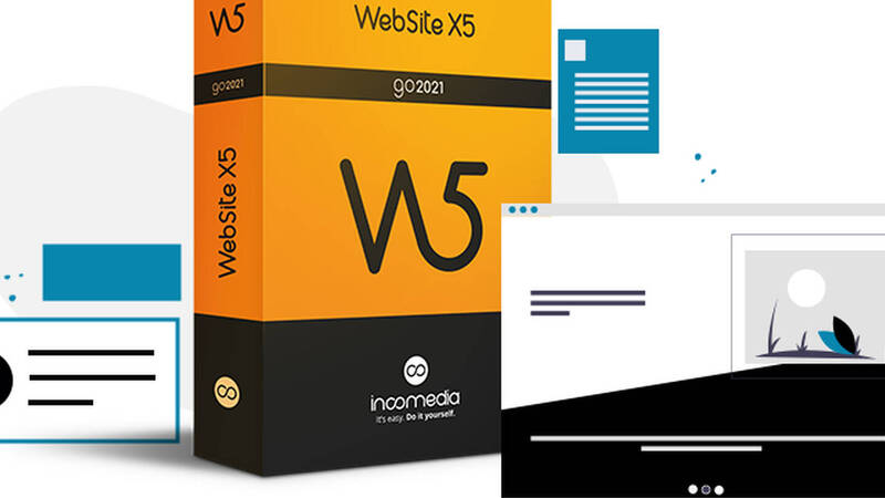 Website X5 Go 2021, create your website quickly and easily