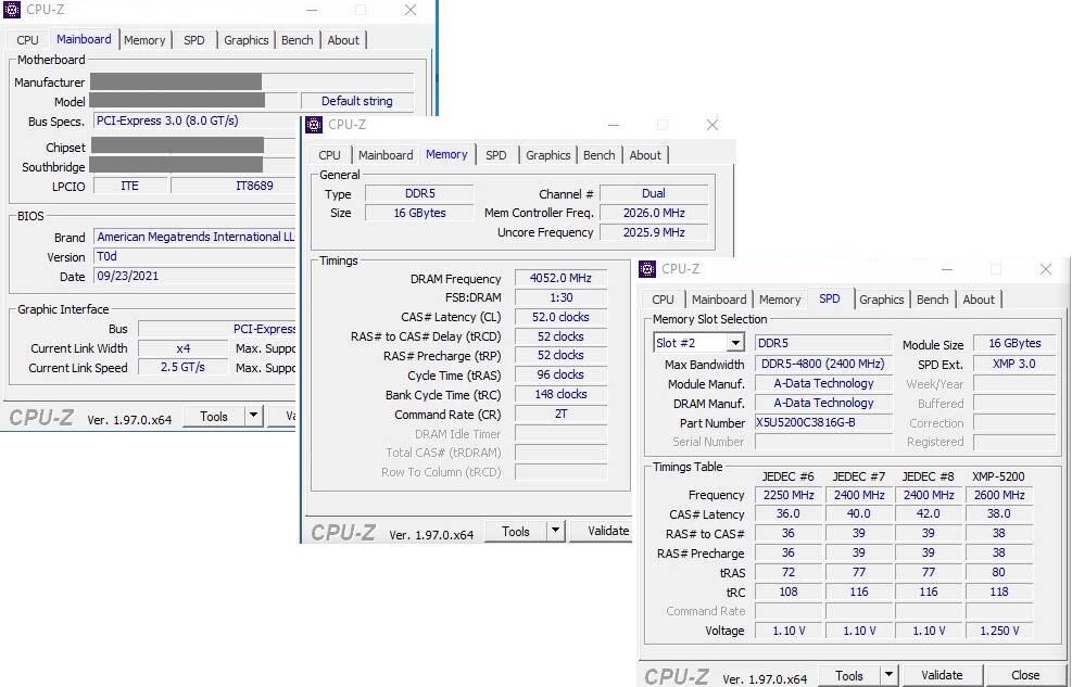 XPG overclock RAM DDR5